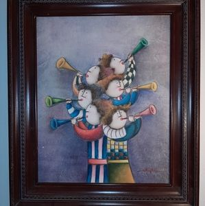 Other - Joyce Roybal Signed Lithography Framed